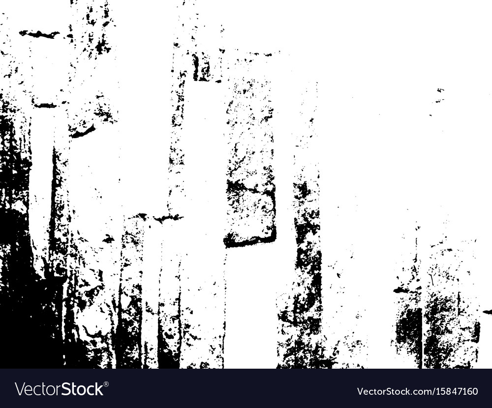 Grunge texture overlay background vector image