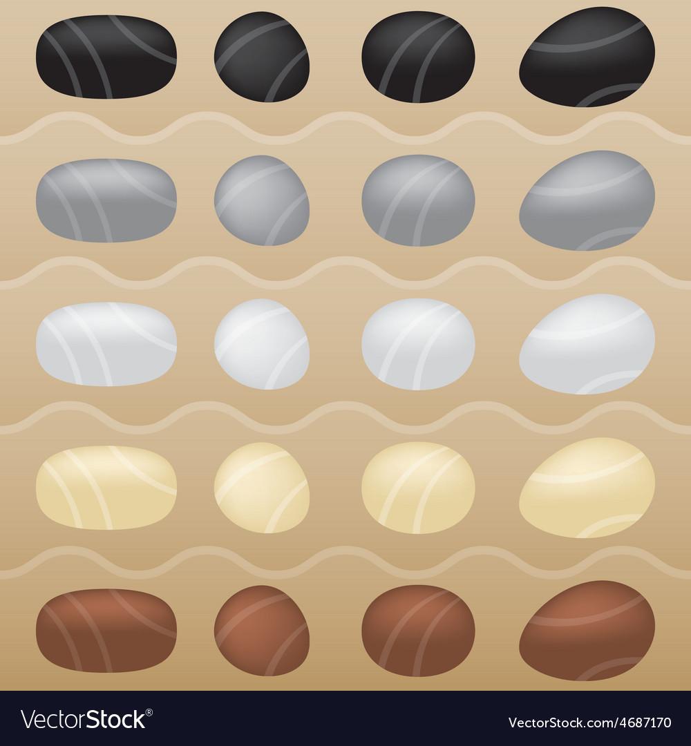 Zen garden stones royalty free vector image vectorstock zen garden stones vector image workwithnaturefo