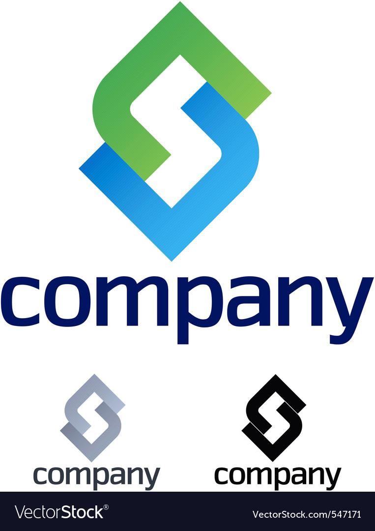 Company design element vector image