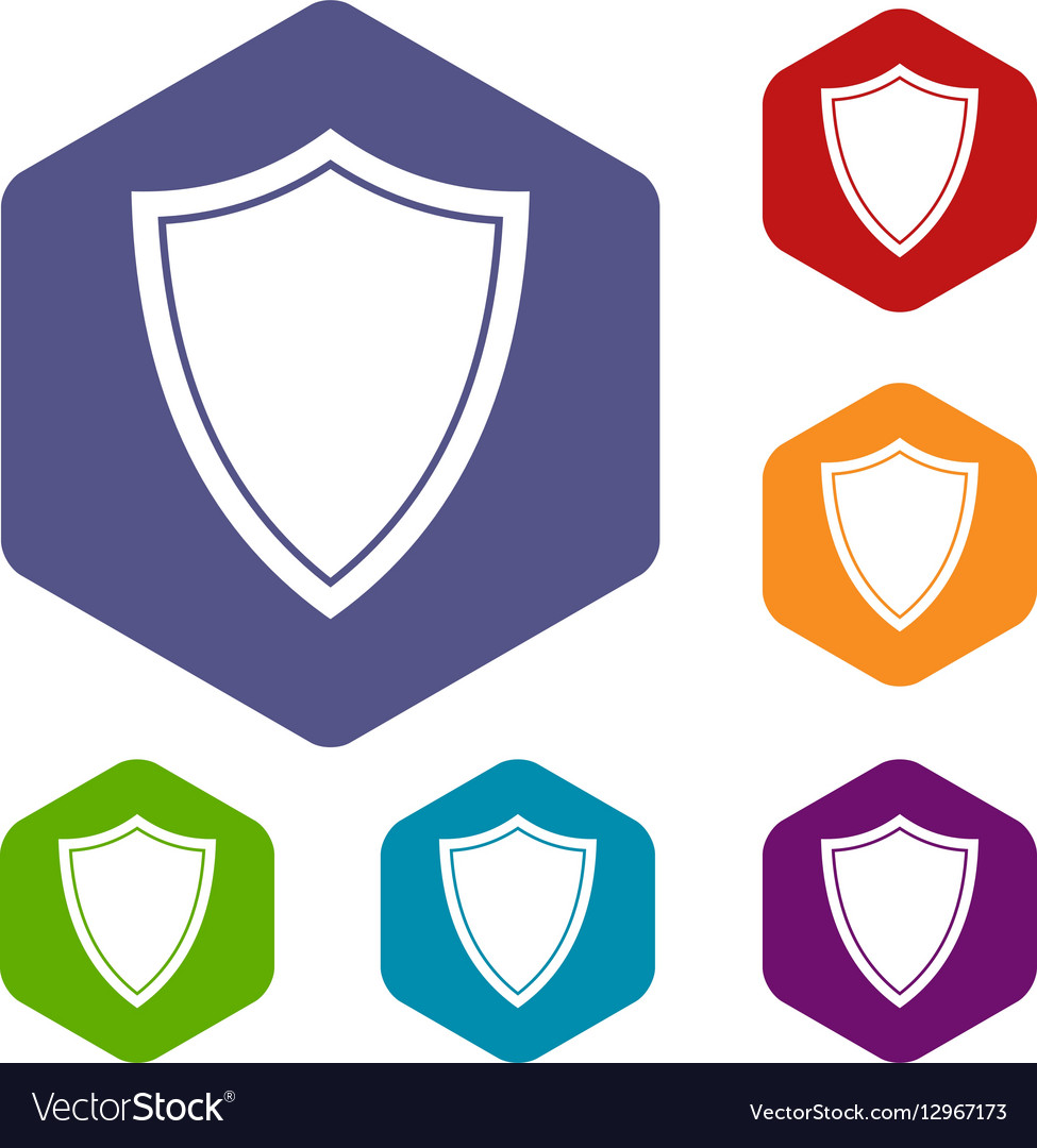 Shield for war icons set royalty free vector image shield for war icons set vector image biocorpaavc Images