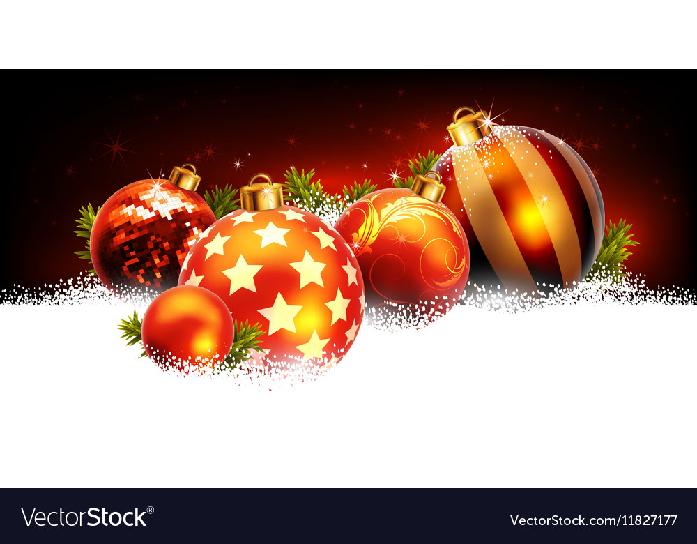 Holiday cards for Christmas and New Year vector image