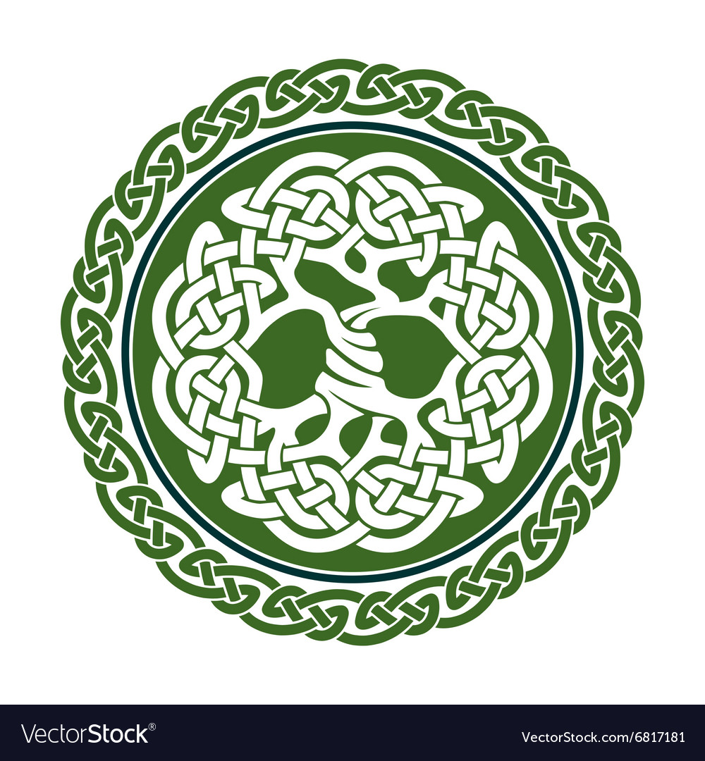 Celtic tree of life royalty free vector image vectorstock celtic tree of life vector image buycottarizona Gallery