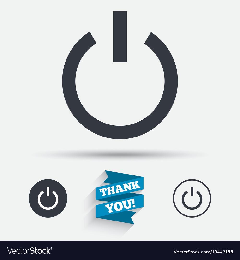 Power sign icon switch on symbol royalty free vector image power sign icon switch on symbol vector image biocorpaavc Choice Image