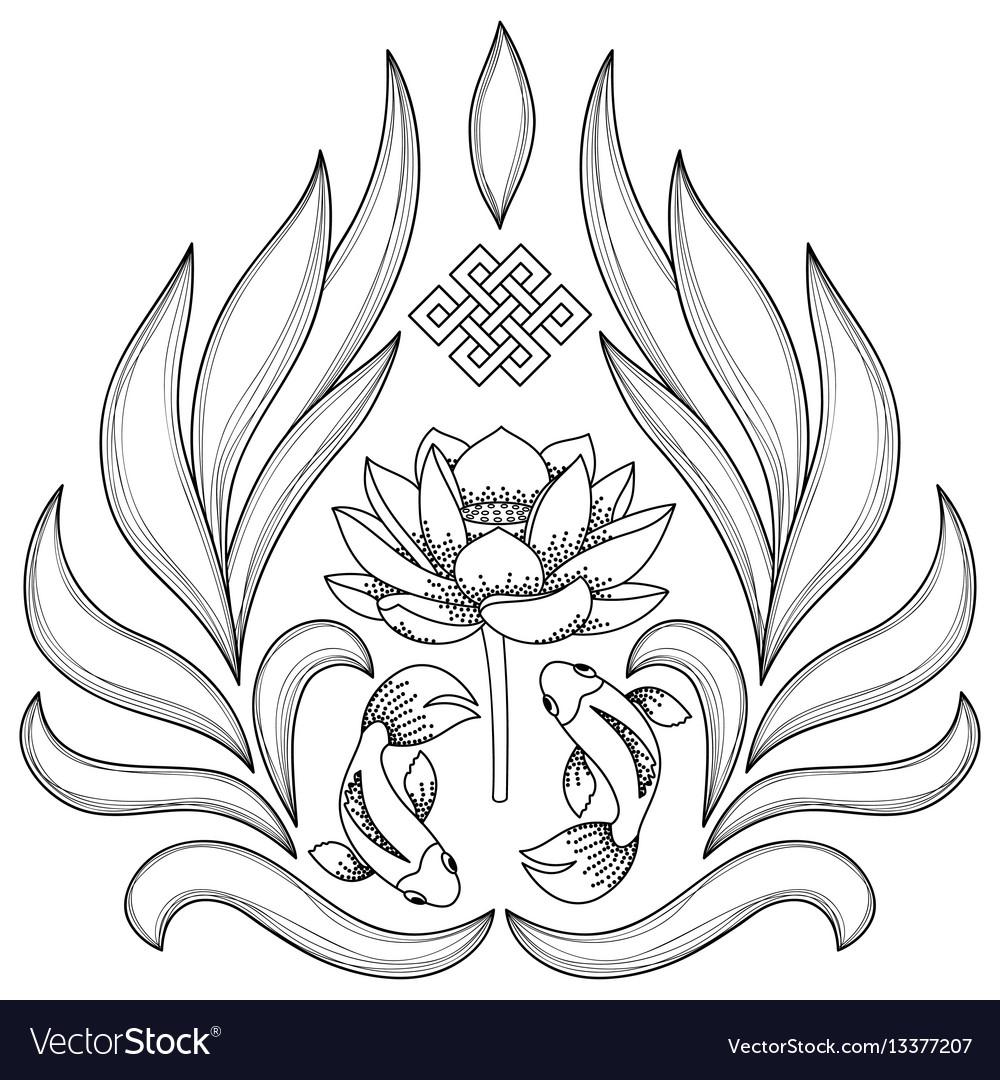 Buddhism symbols pattern royalty free vector image buddhism symbols pattern vector image buycottarizona Gallery