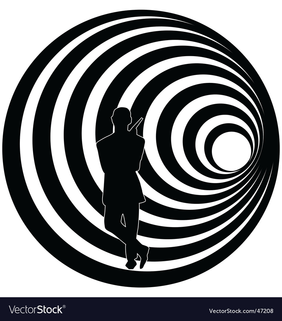 Bond abstract vector image