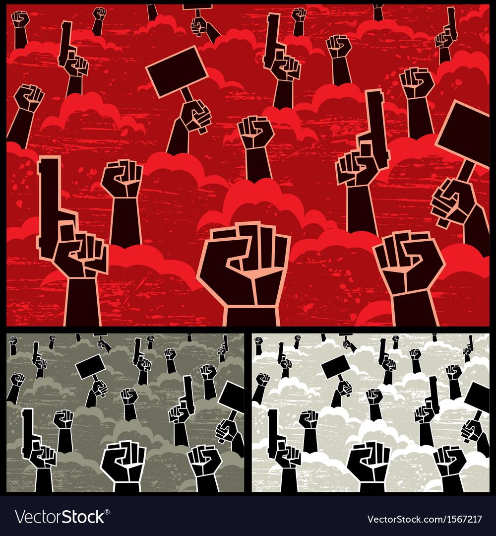 Rebellion vector image