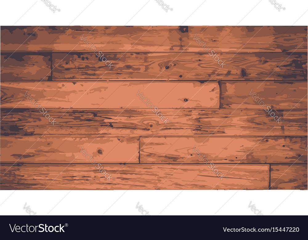 Floorboards vector image