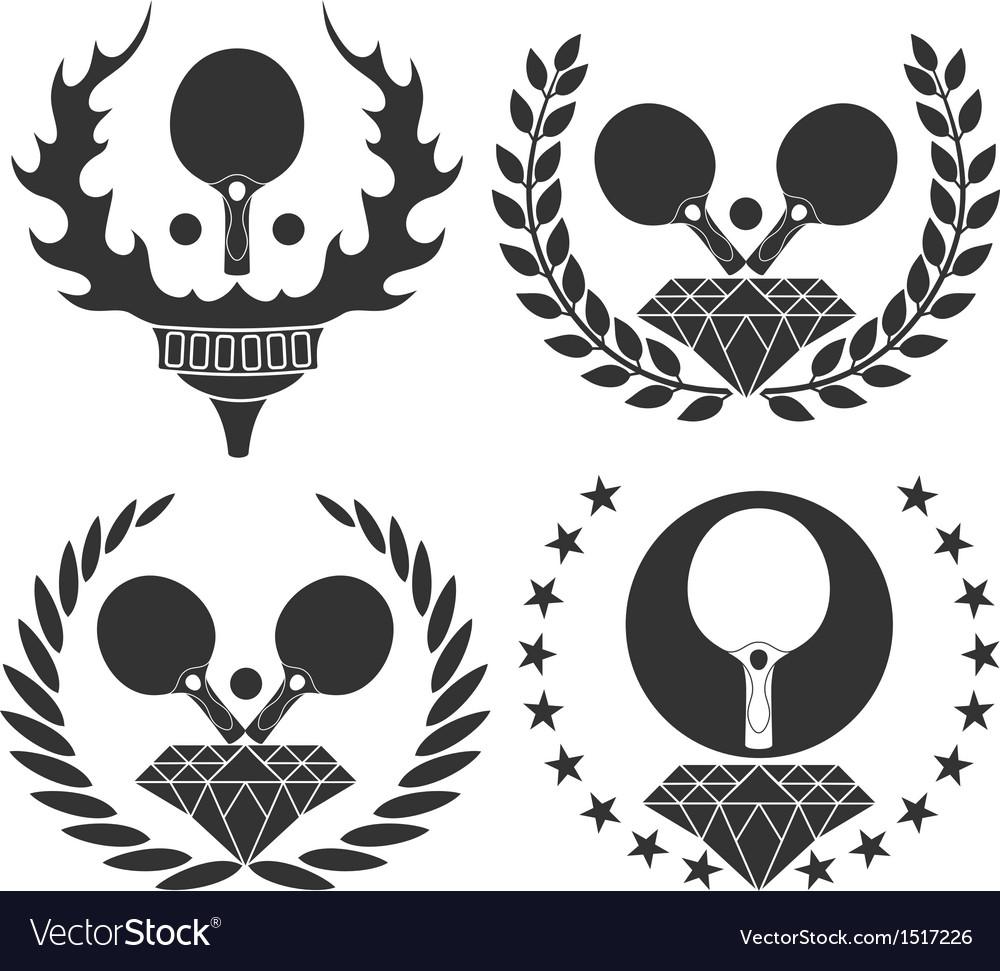 table tennis royalty free vector image vectorstock