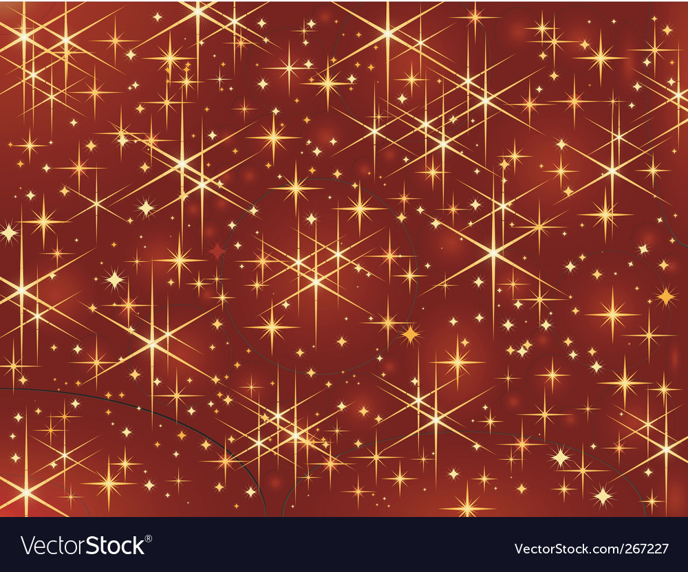 Magic stars vector image