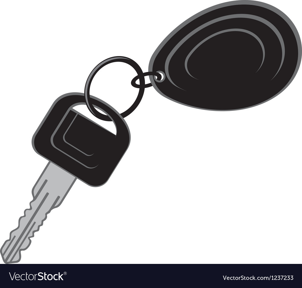 Keys from the car vector image