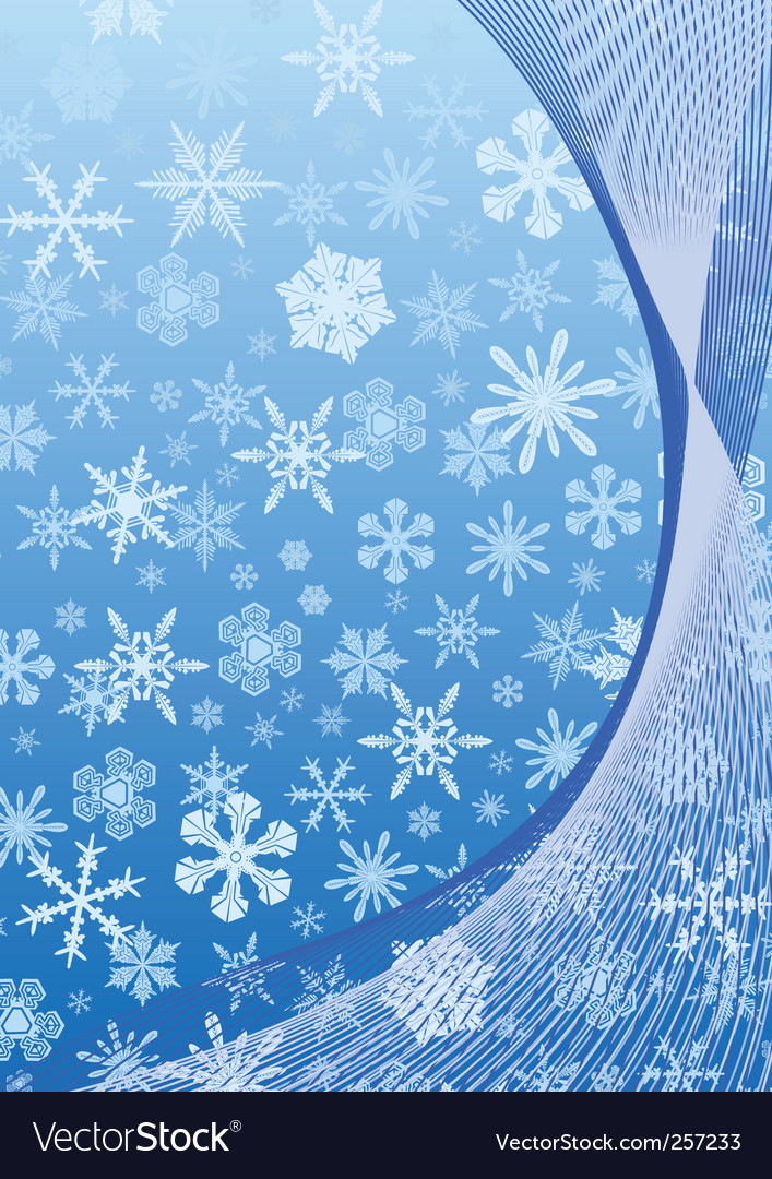 New year abstract blue background vector image