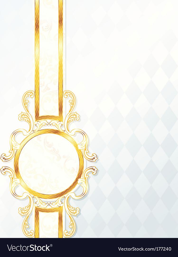 Wedding banner vector image