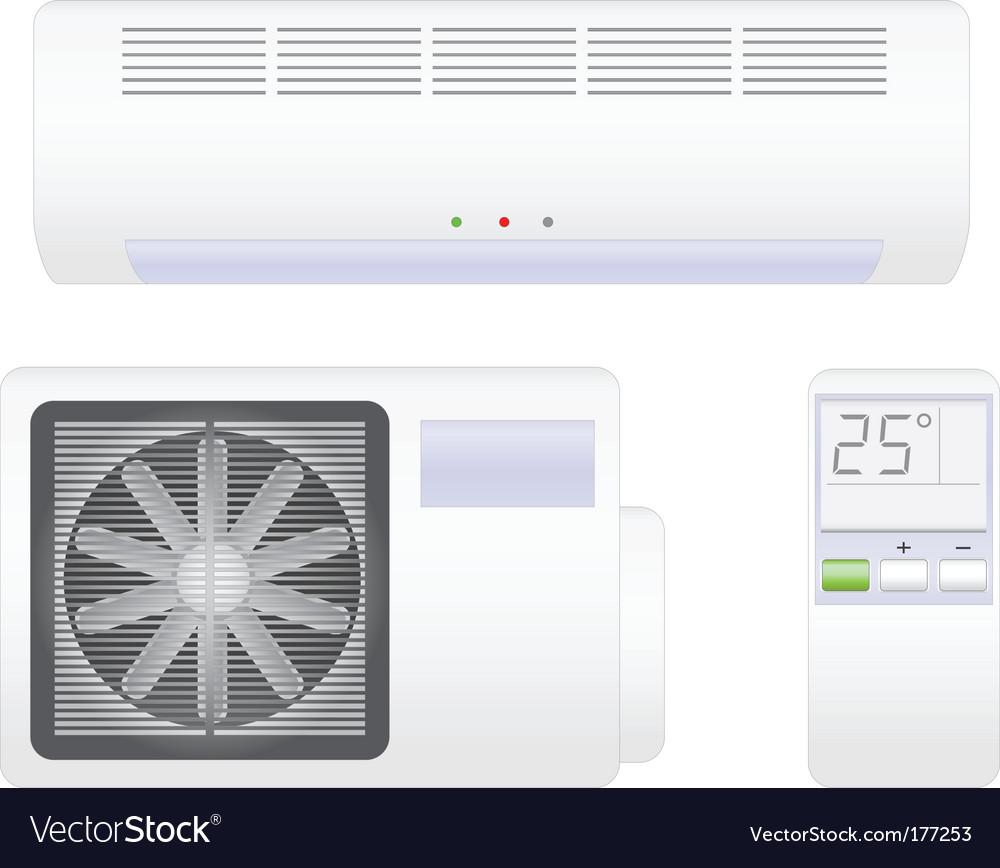 Conditioner vector image