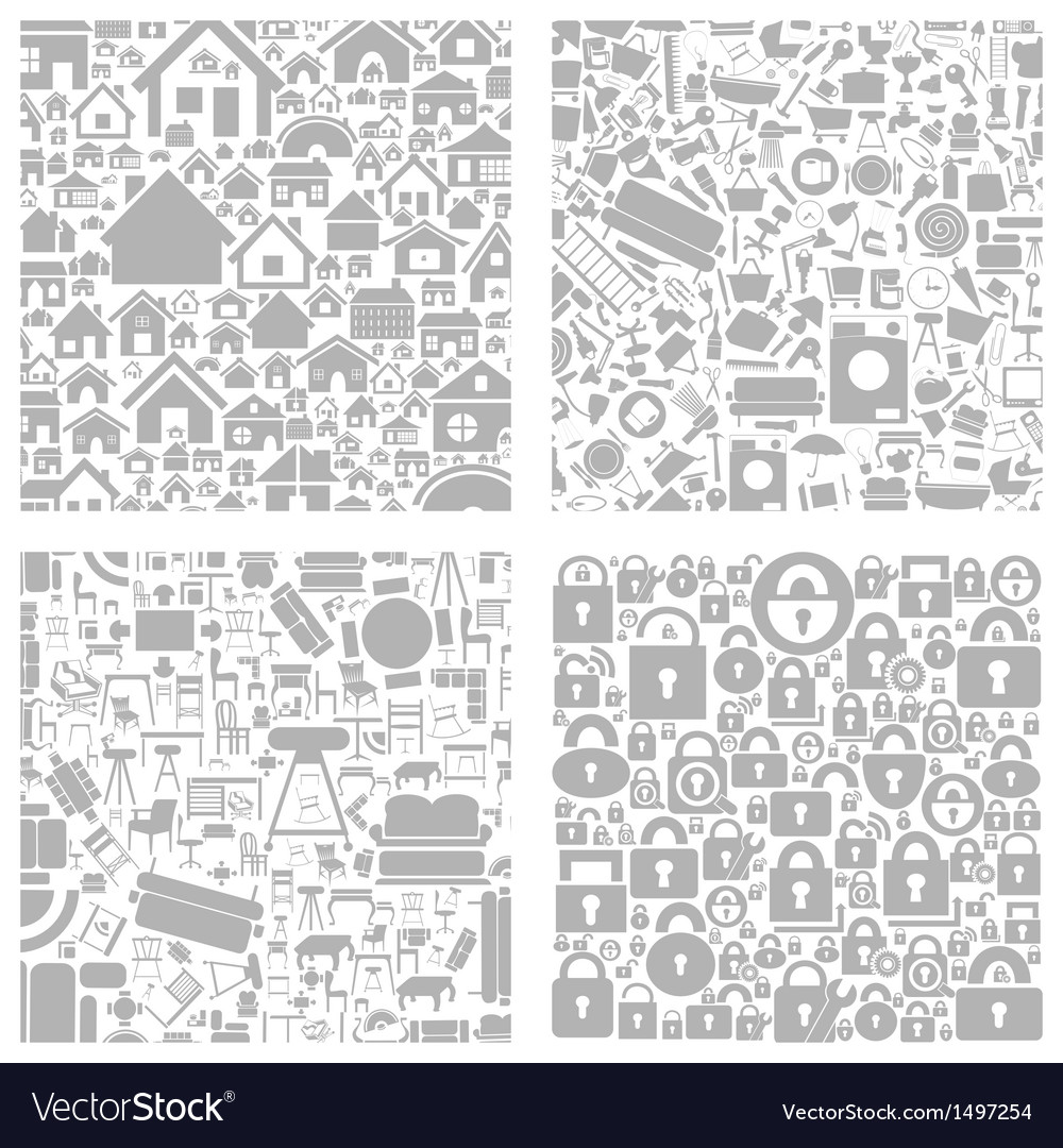 House a background2 vector image