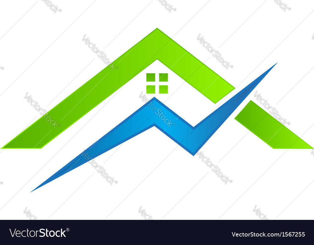 House electrical Logo Royalty Free Vector Image