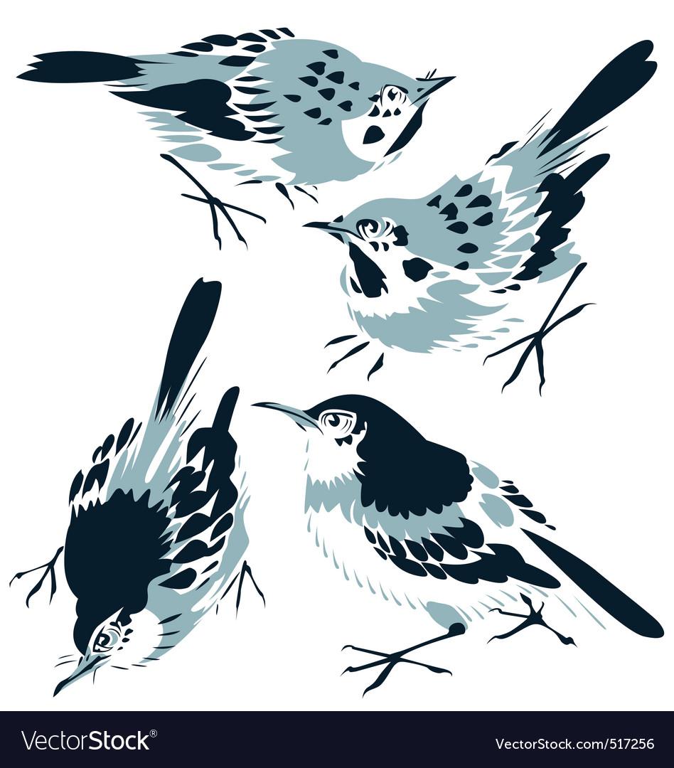 Bird illustration vector image