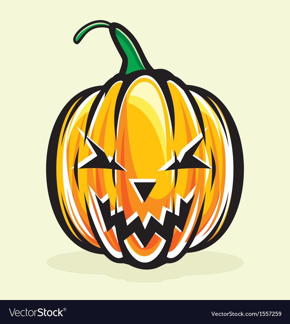 holiday pumpkin jack lantern royalty free vector image