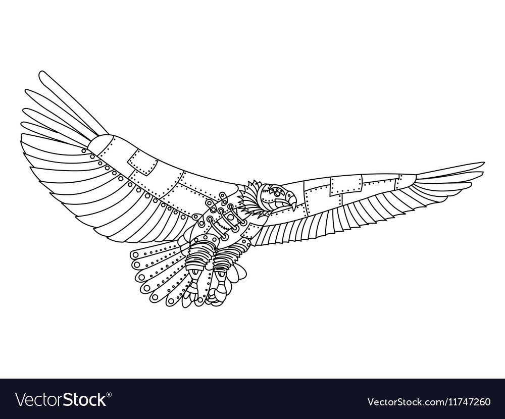 Eagle Coloring Book - Worksheet & Coloring Pages
