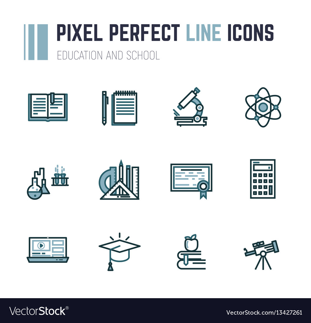 Education and school vector image