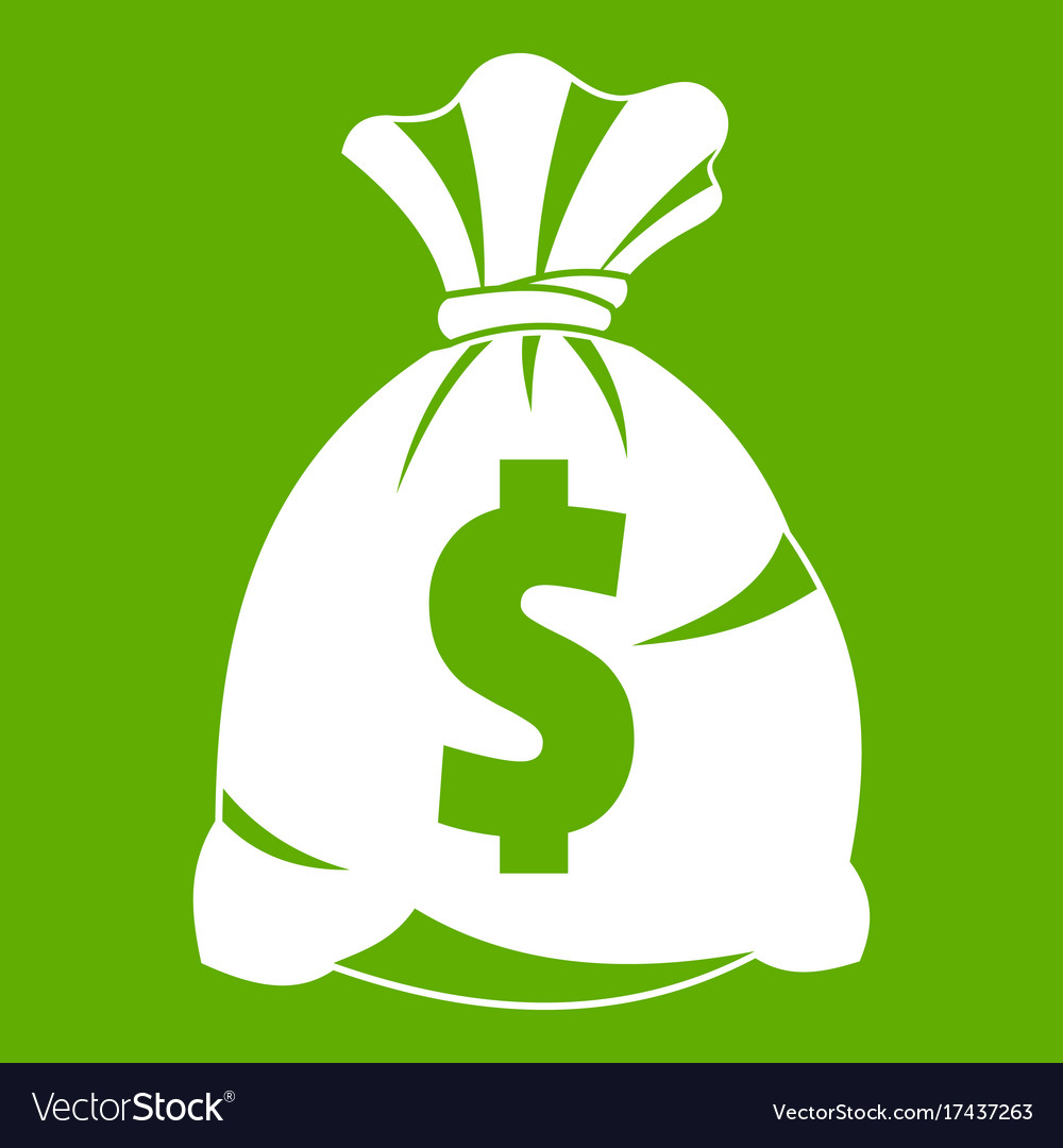 Money bag with us dollar sign icon green vector image money bag with us dollar sign icon green vector image biocorpaavc