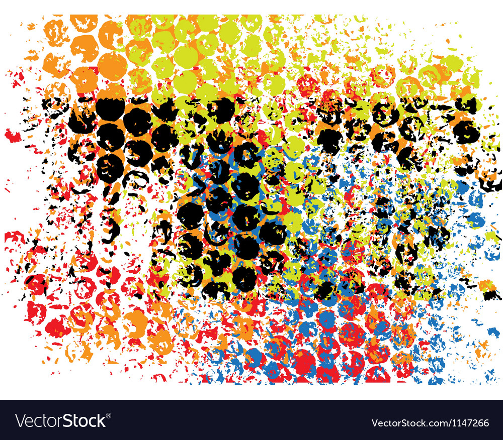 Pattern grunge background vector image