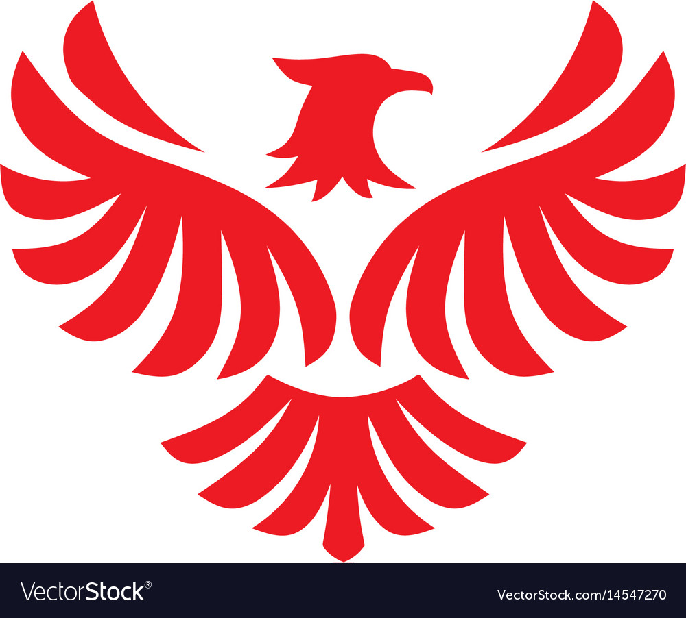 Eagle bird logo design flying hawk royalty free vector image eagle bird logo design flying hawk vector image biocorpaavc Gallery