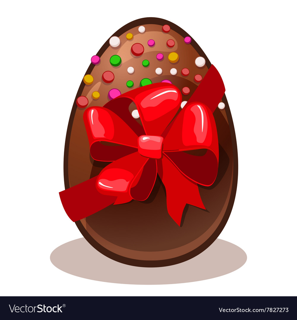 Happy easter gift chocolate egg royalty free vector image happy easter gift chocolate egg vector image negle Gallery