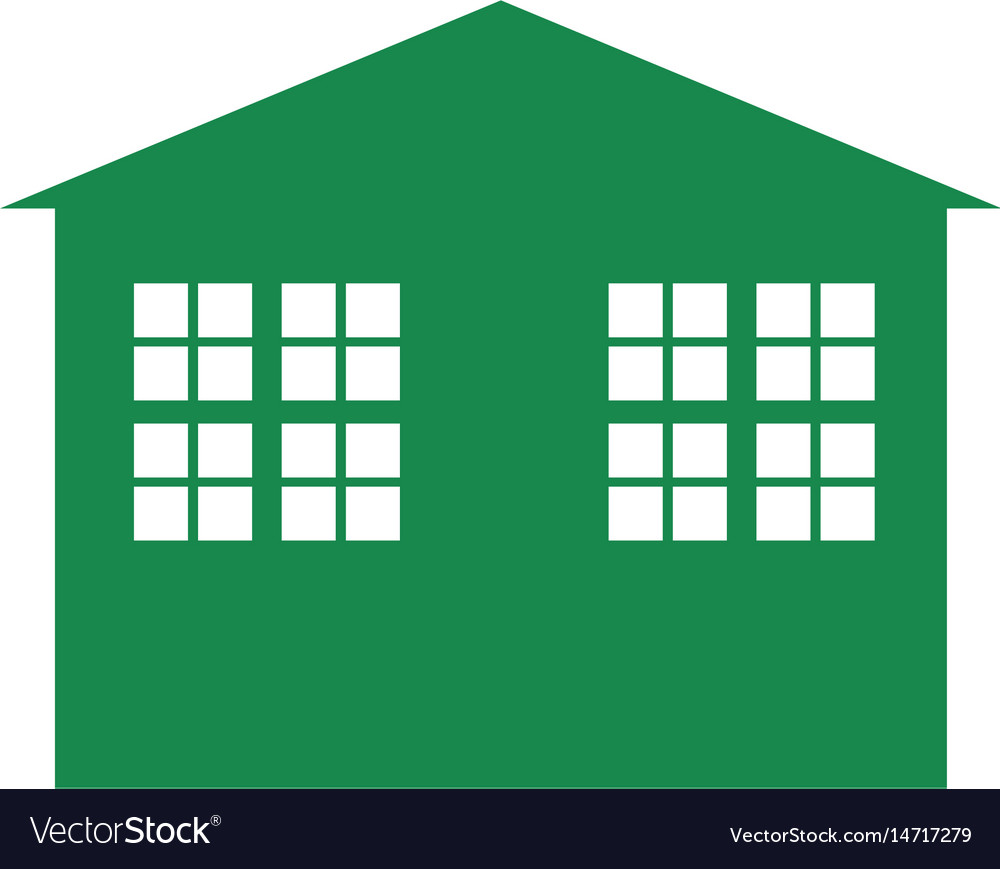 Green building symbol royalty free vector image green building symbol vector image biocorpaavc Image collections