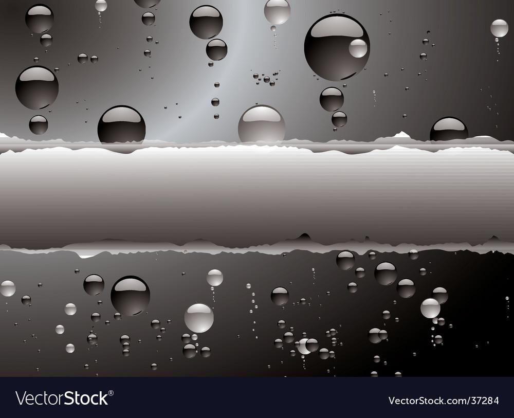 Bubble rip vector image