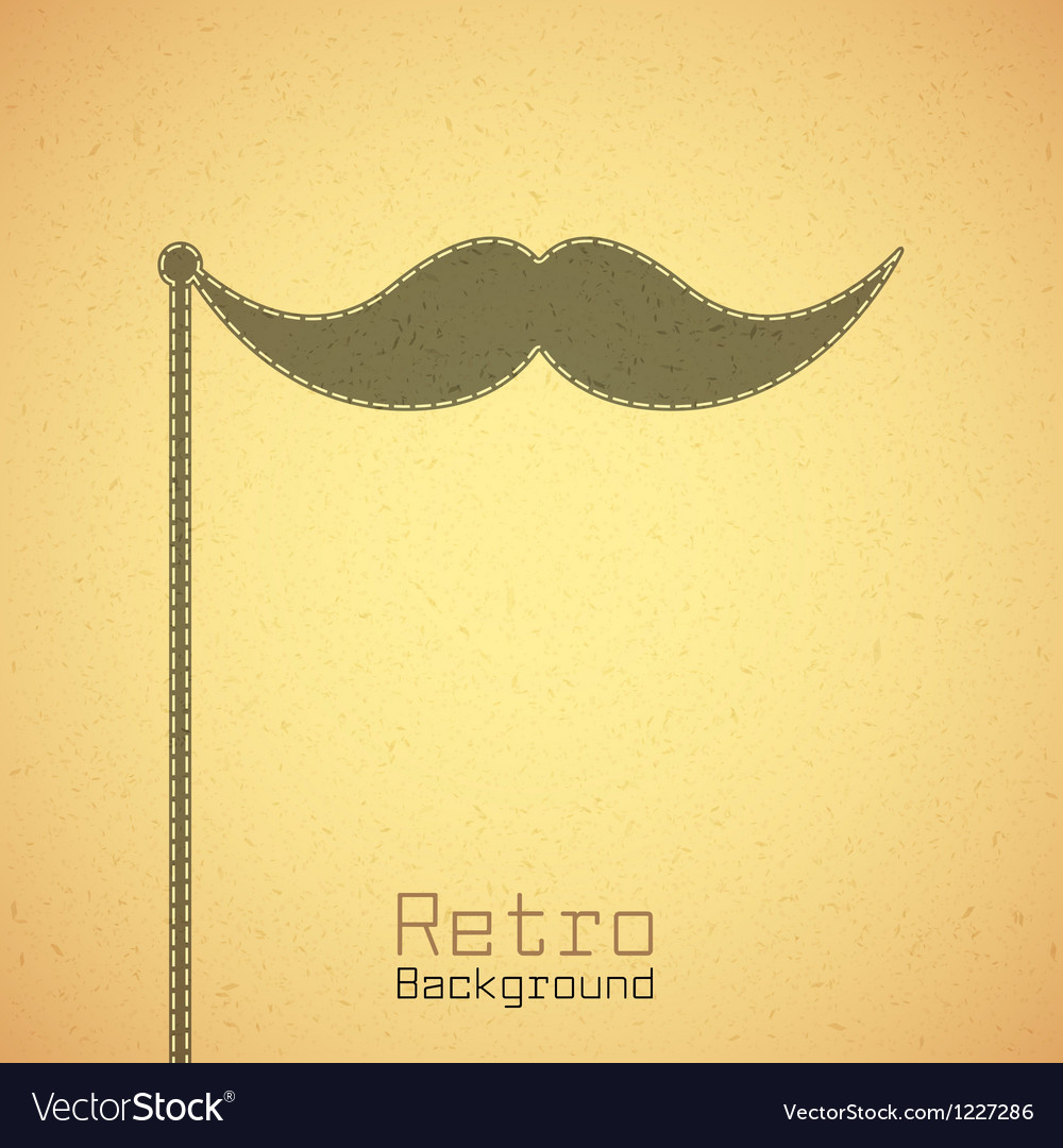 Retro paper background vector image