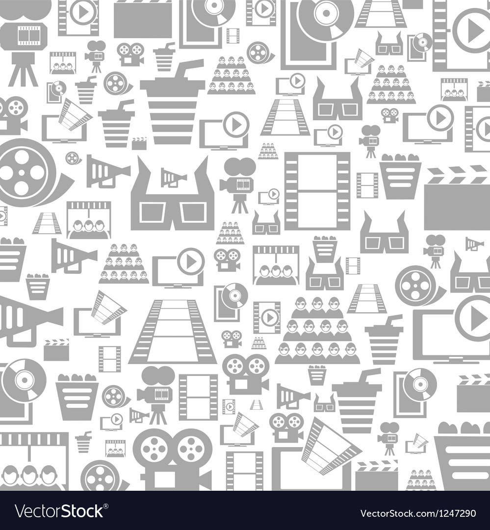 Cinema a background Vector Image