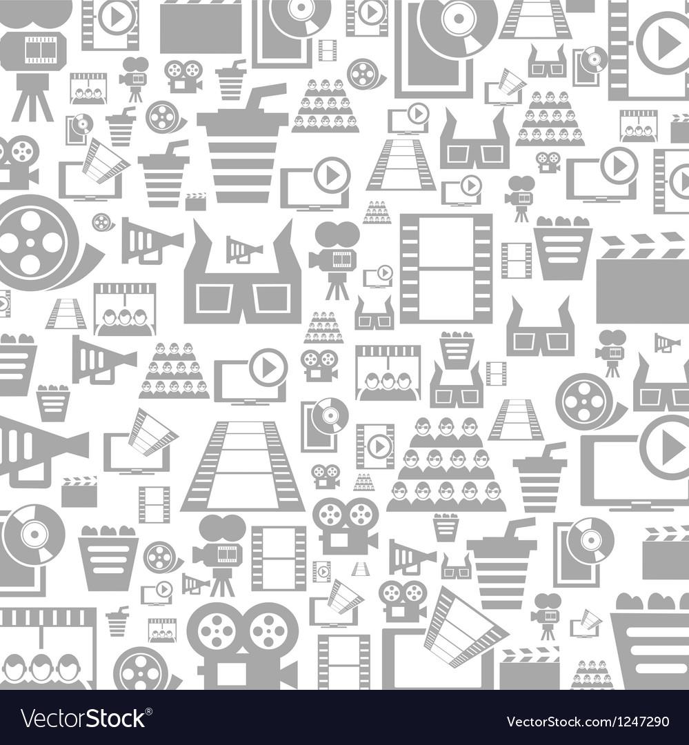 Cinema a background vector image