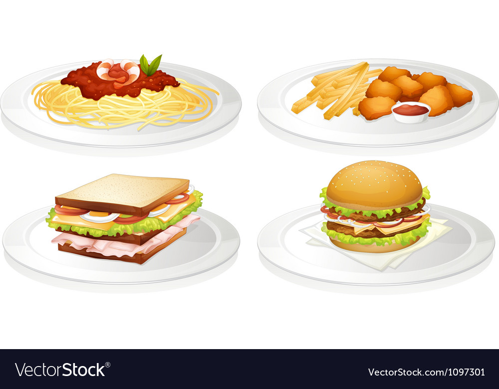 A food vector image