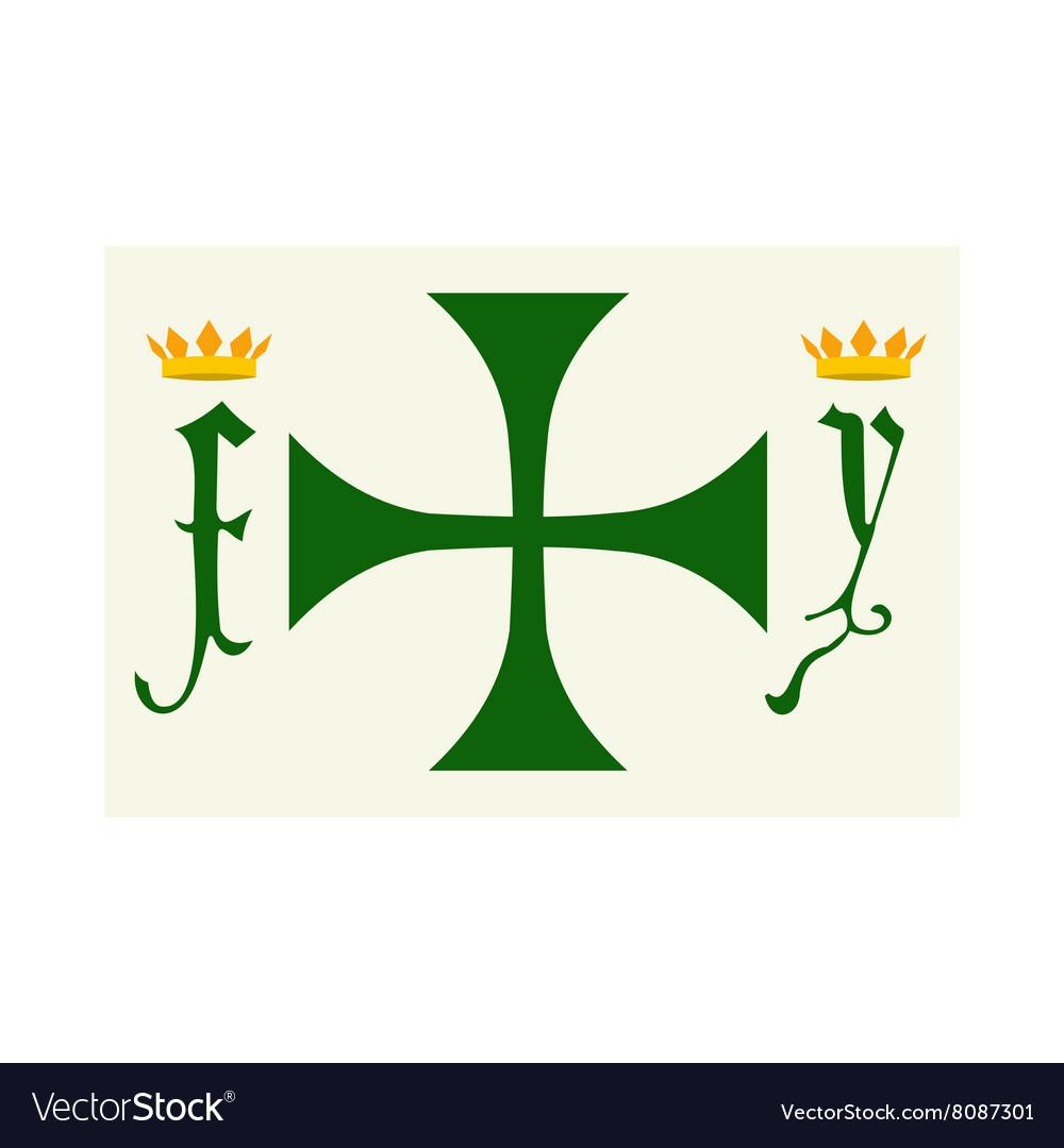 Columbus day symbol icon vector image