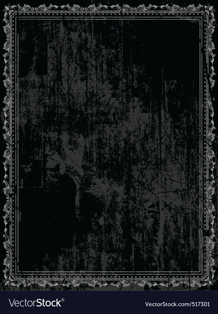 Decorative grunge vector image