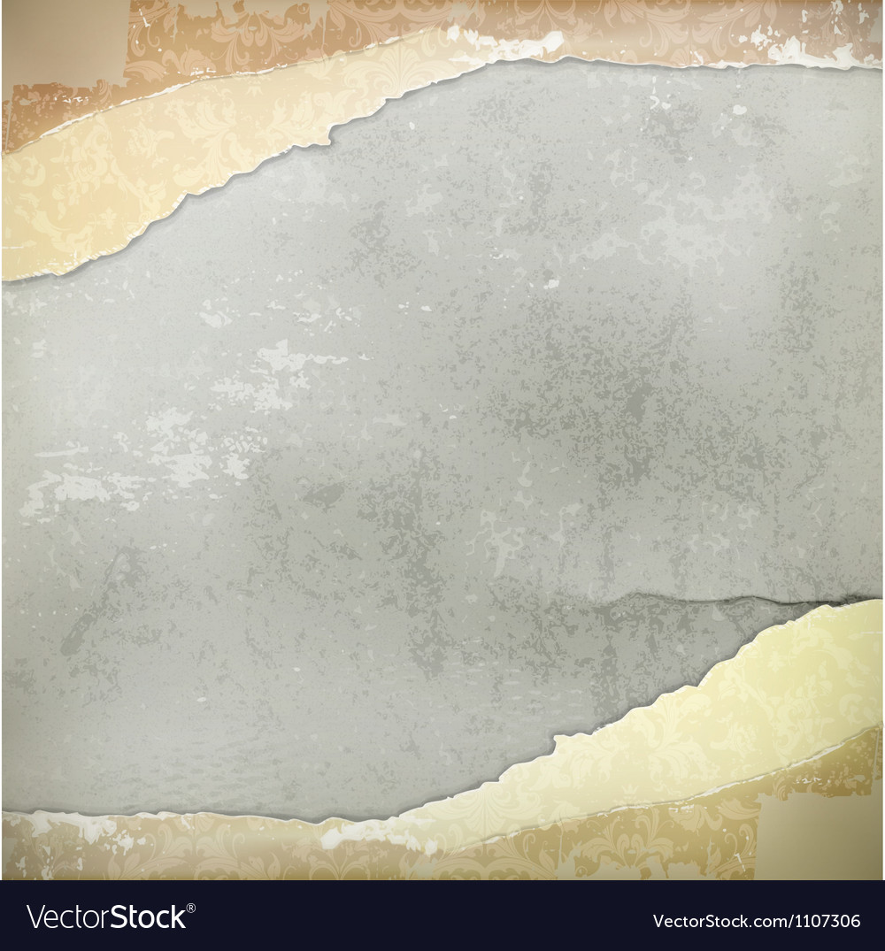 Wall vintage background vector image