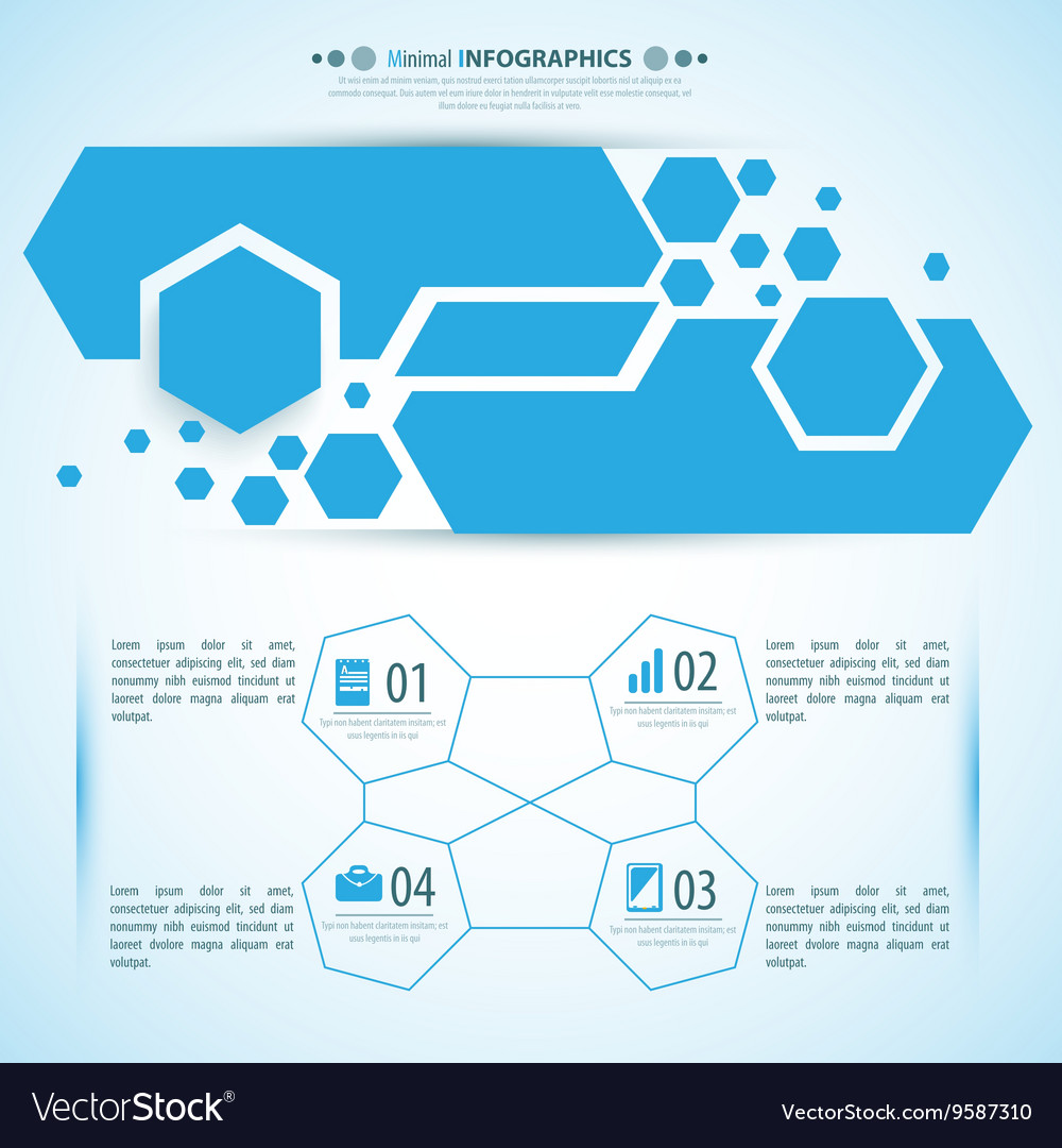 Web info-graphic tamplate for vector image