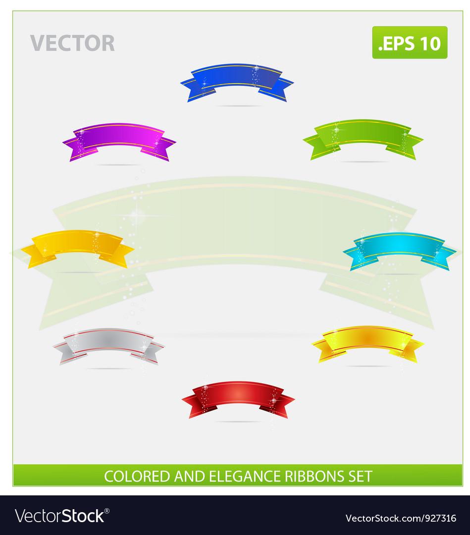Swirl elegance vector image
