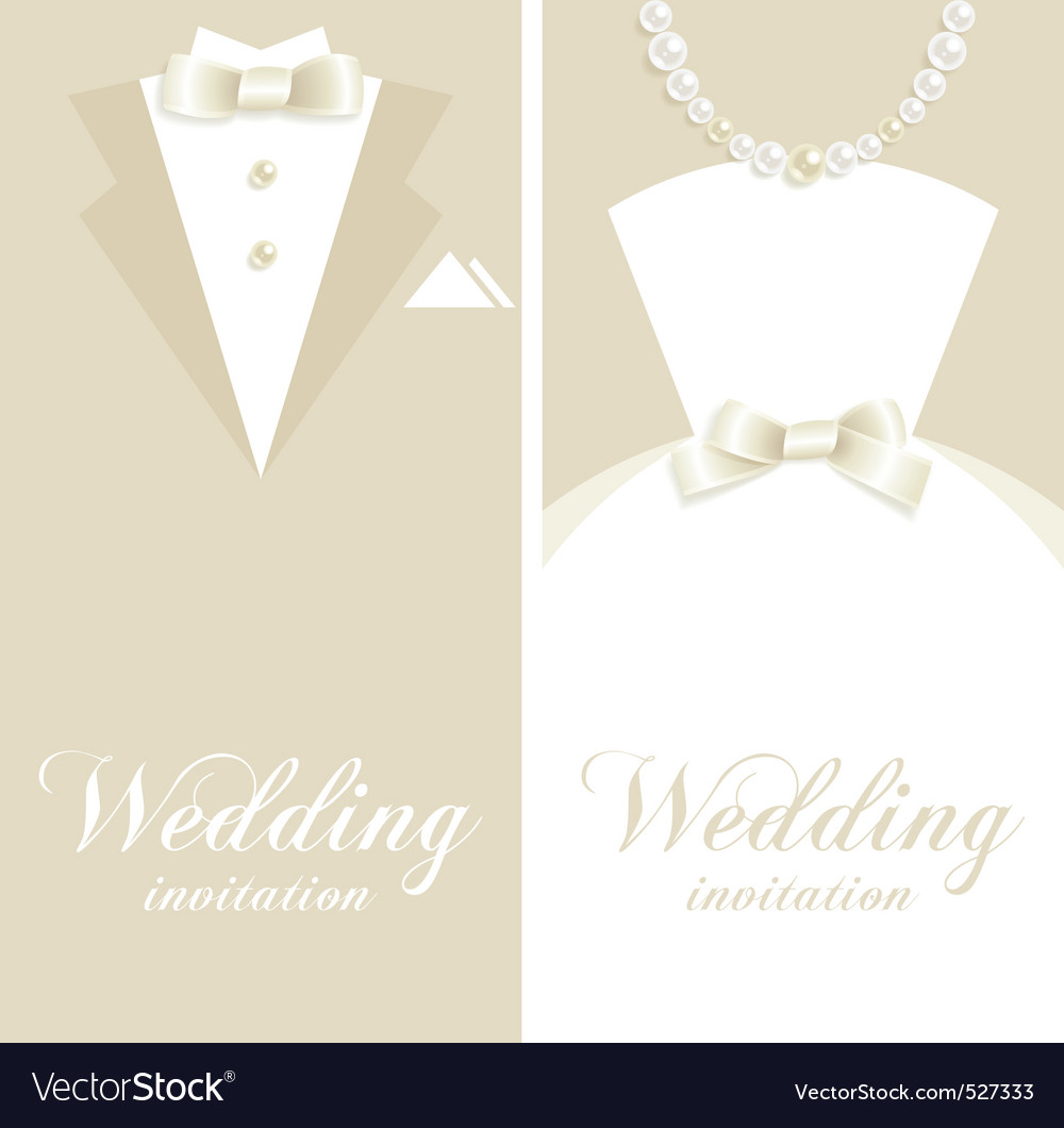 Wedding invitation royalty free vector image vectorstock wedding invitation vector image stopboris Gallery