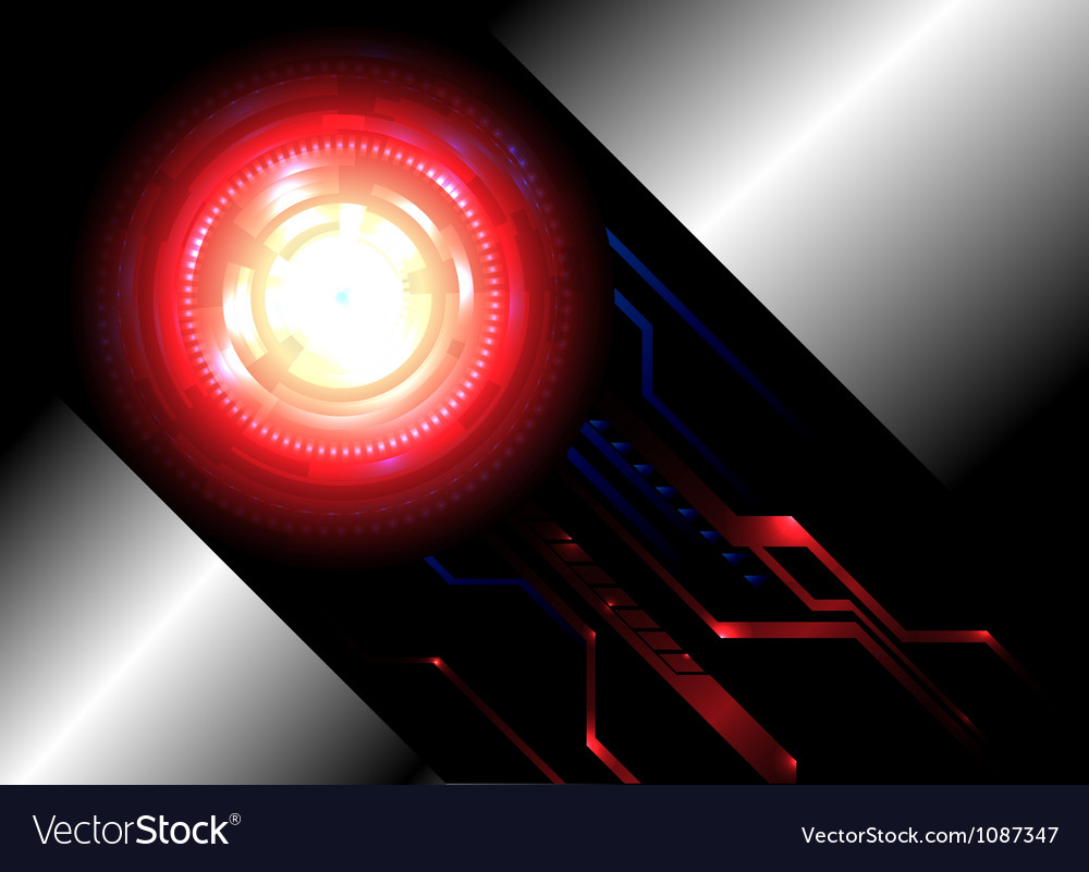 Abstract background for futuristic high tech vector image