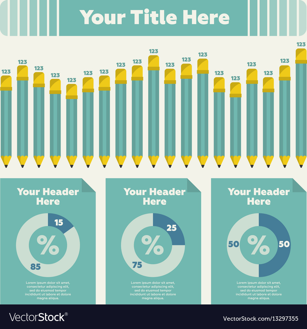 Bar chart and pie chart royalty free vector image bar chart and pie chart vector image nvjuhfo Gallery