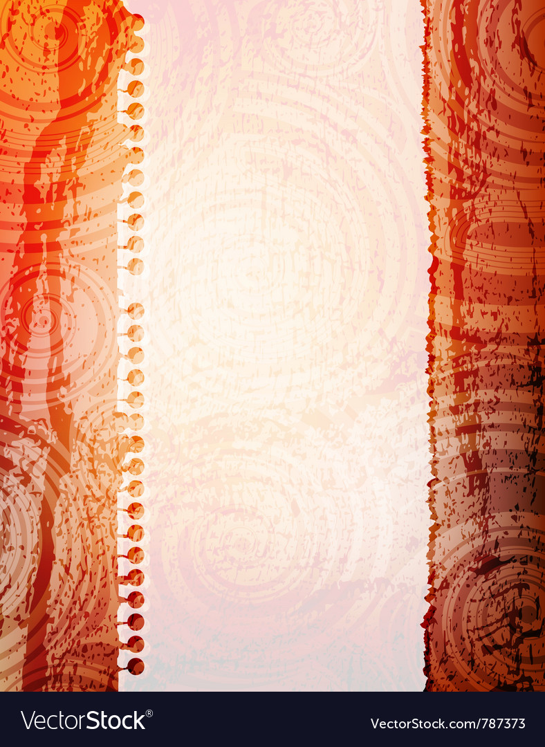Abstract grungy banner vector image