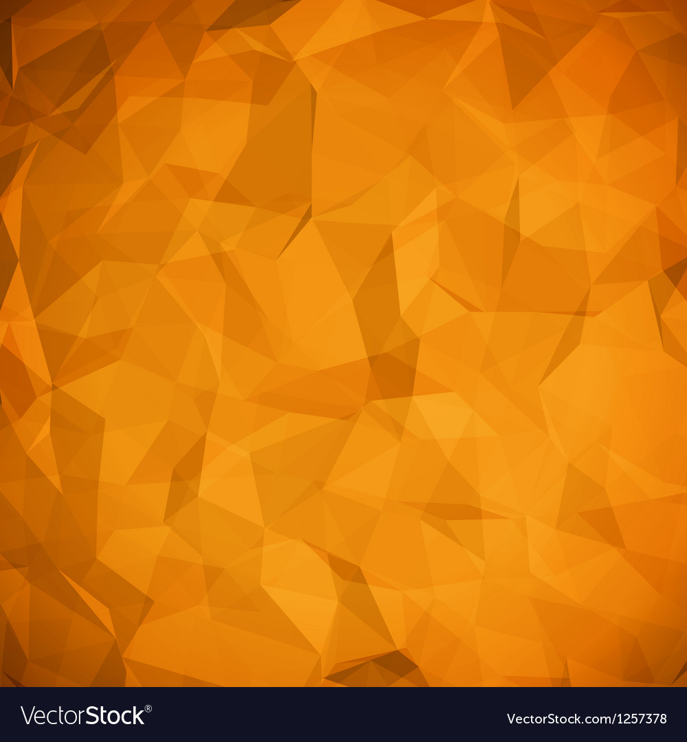 Abstract geometric origami paper vector image