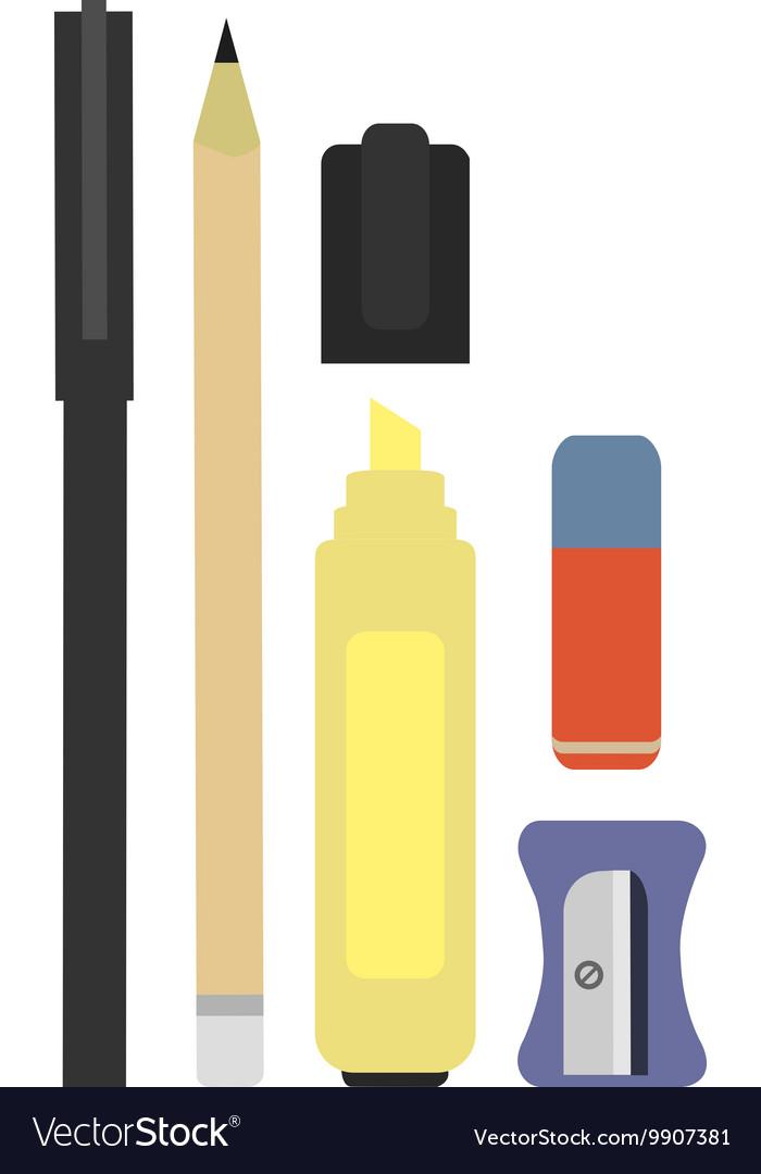 Stationary Tool Set vector image