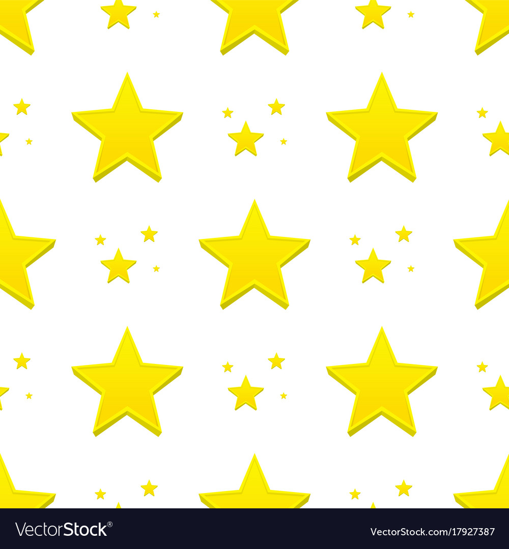 Different style shape silhouette shiny star vector image