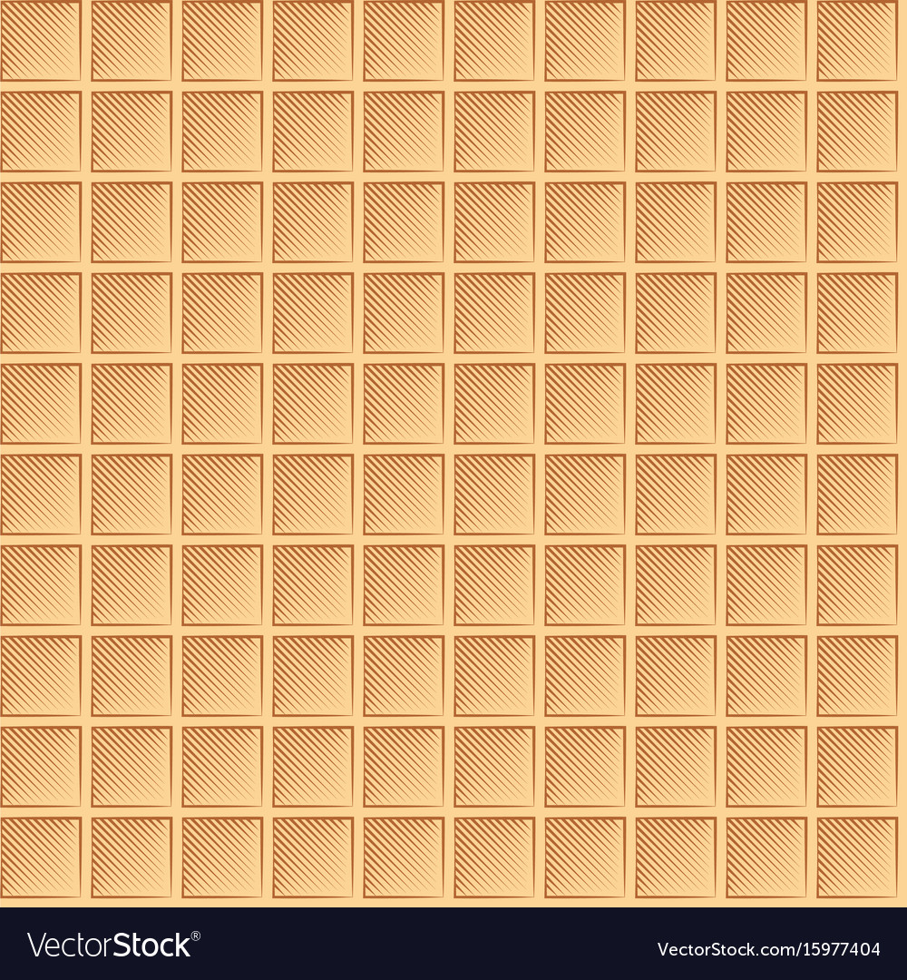 Seamless waffle graphic pattern - multicolor vector image