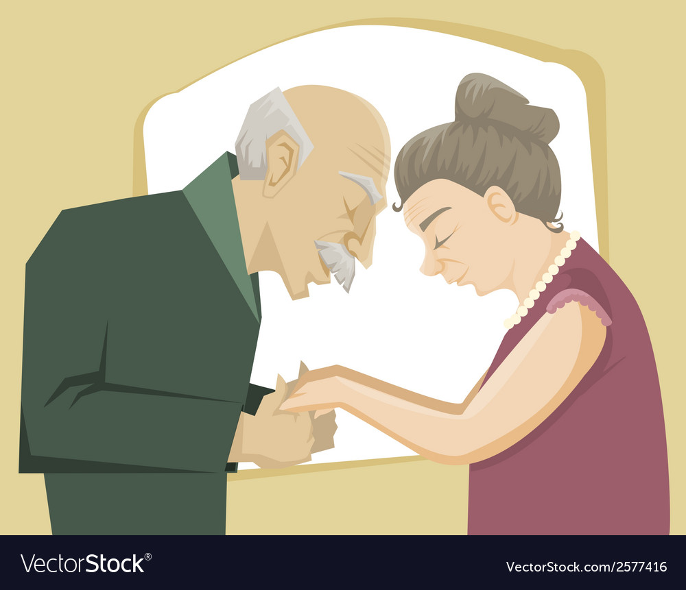 Love through the time vector image