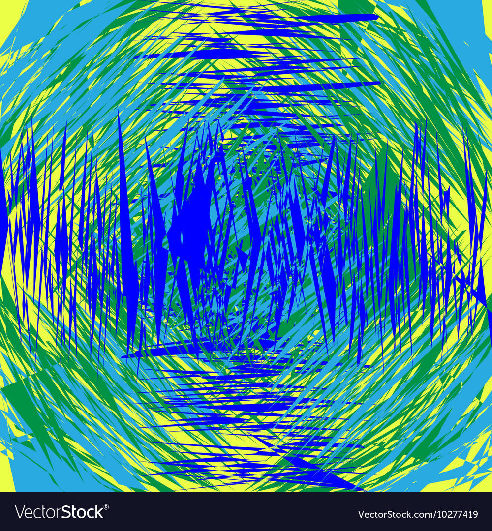 Geometric lines vector image