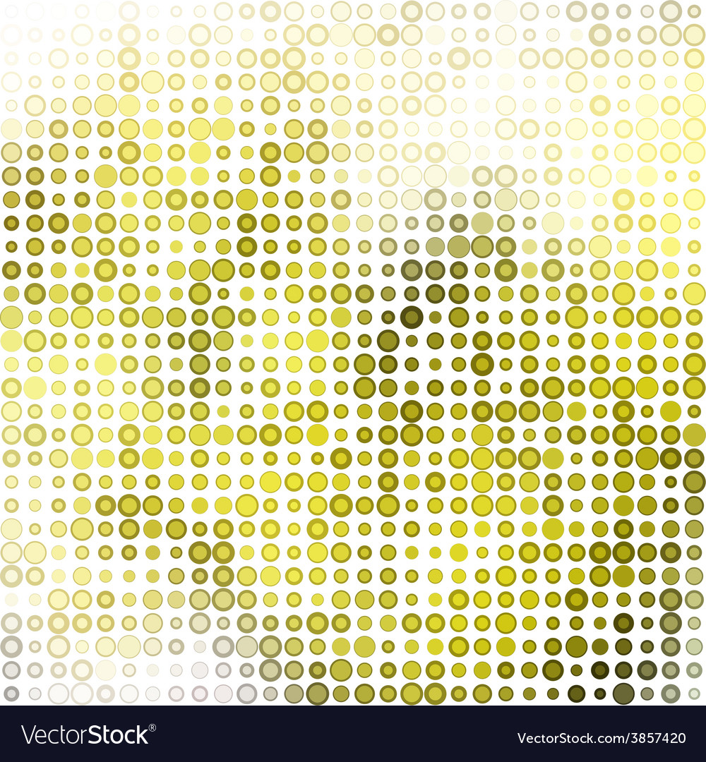 Abstract Colorful Dots Background vector image