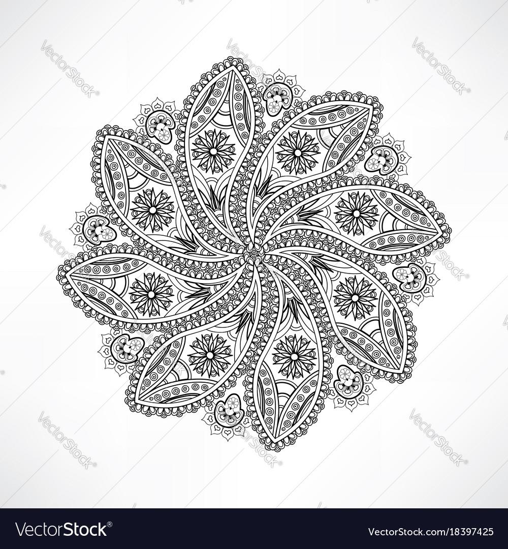 Nett Mandala Floral Fotos - Malvorlagen-Ideen - printingontshirts.info